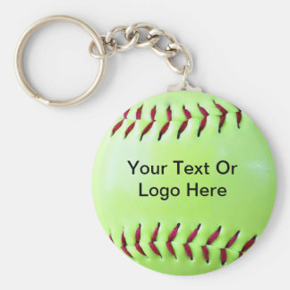 Softball Fundraising Magnet, Keychain, Button Key Ring