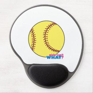 Softball Gel Mouse Mat