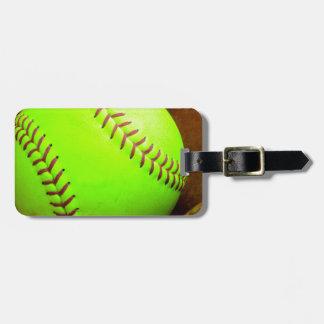 Softball Gifts Luggage Tag