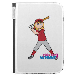 Softball Girl Kindle Keyboard Cases