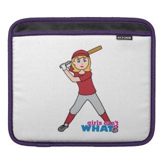 Softball Girl iPad Sleeve