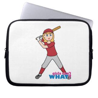 Softball Girl Computer Sleeves