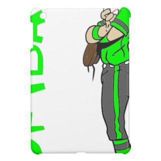 SOFTBALL GIRL PITVHER TEXT iPad MINI COVERS