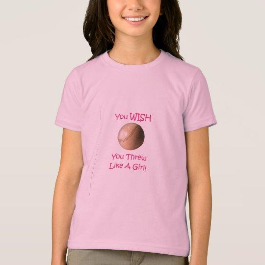 Softball Girl Tee Shirt