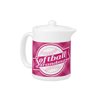 Softball Grandma Tea Pot