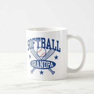 Softball Grandpa Coffee Mug