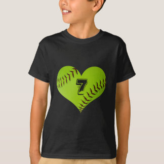 Softball heart T-Shirt