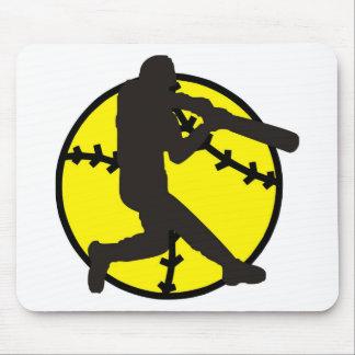 Softball Hitter Mousepad