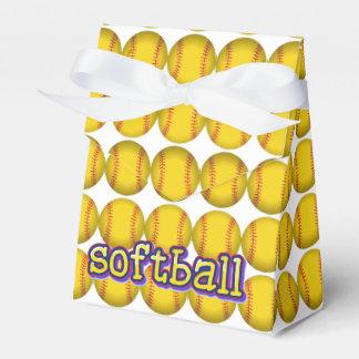 Softball Image Favour Box