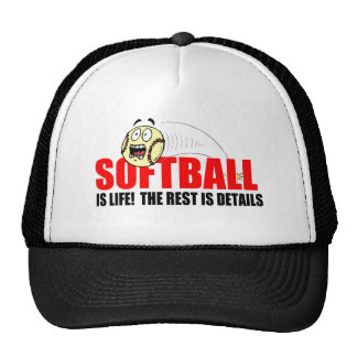 Softball Is Life Trucker Hat