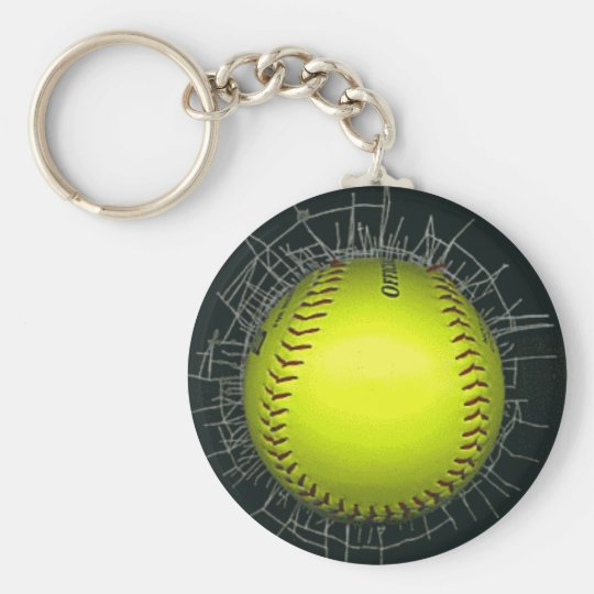 Softball Keychains