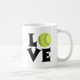 Softball Love Coffee Mug