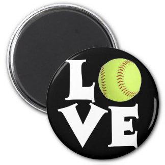 Softball Love Magnet