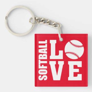 Softball Love, Softball Key Ring