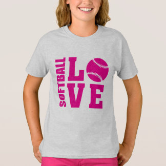 Softball Love, Softball T-Shirt