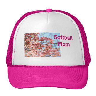 Softball MOM baseball sports hat Customize