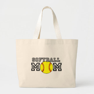 Softball Mom Jumbo Tote Bag