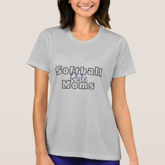 Softball Moms Rule Tshirts Tees Sport Teams