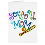 Softball Mum Card