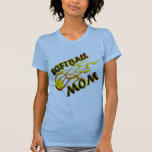 Softball Mum (flame) copy.png T Shirts