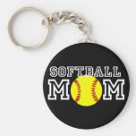Softball Mum Keychains