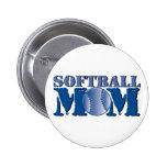 Softball Mum Pin
