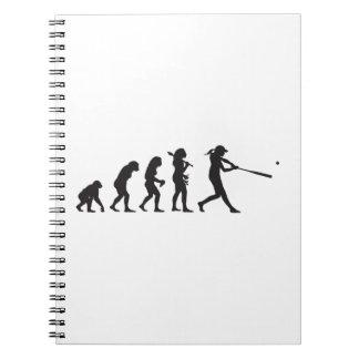 Softball Notebooks