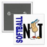 Softball Nut 1 Buttons