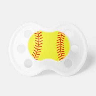 Softball pacifier | soother dummy binkie