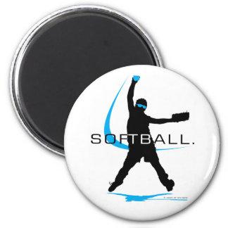 Softball - Pitcher Magnet
