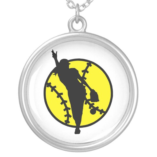 Softball Pitcher Necklaces