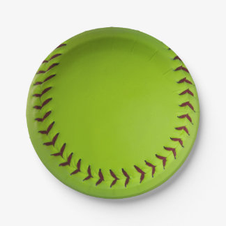 softball plates 7 inch paper plate
