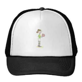 Softball Player Trucker Hat