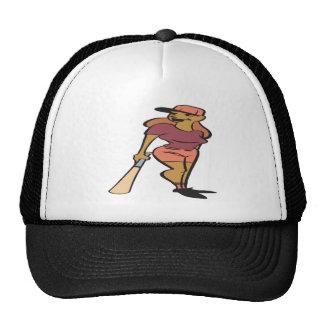 Softball Player Mesh Hat