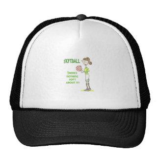 Softball Player Mesh Hats