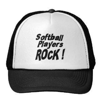 Softball Players Rock! Hat