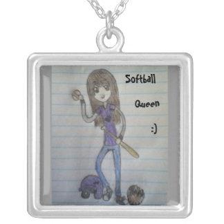 Softball Queen Necklace