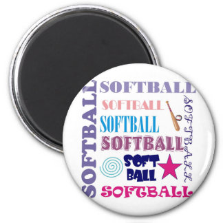 Softball Repeating Magnet