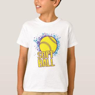 Softball Splatter T-Shirt