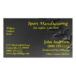 Softball Sports Field Pack Of Standard Business Cards