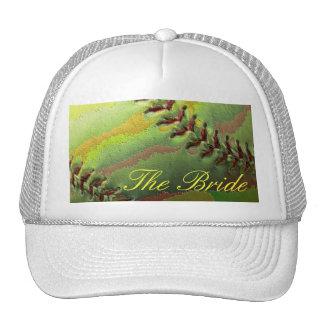 Softball Sports Wedding Theme The Bride Cap