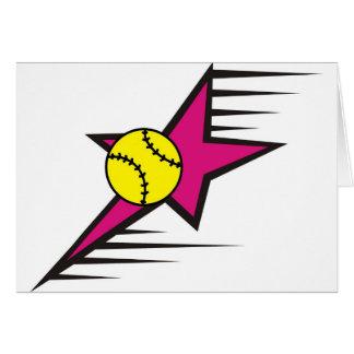 Softball Star Card