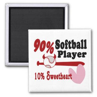 Softball Sweetheart Refrigerator Magnet