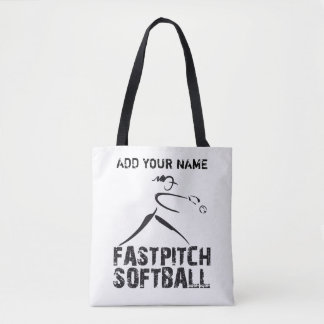 Softball Tote Bag