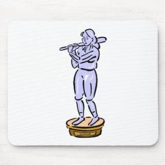 Softball Trophy Mousepad