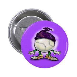 Softball Wizard 6 Cm Round Badge