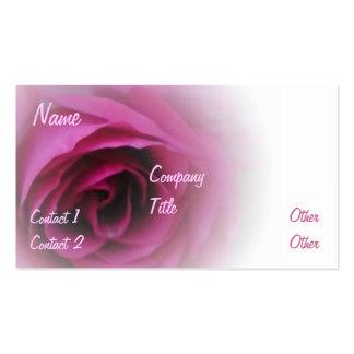 Softest Rose Pack Of Standard Business Cards