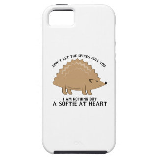 Softie at Heart iPhone 5 Cases