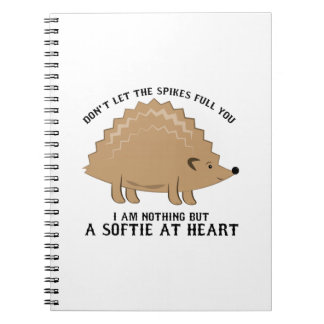 Softie at Heart Notebook