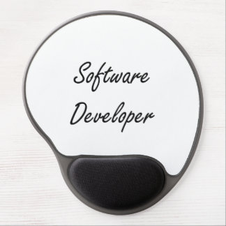 Software Developer Artistic Job Design Gel Mouse Pad